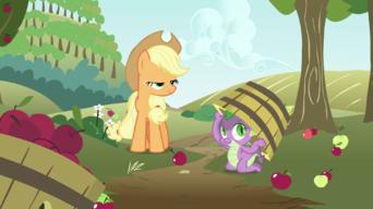 My Little Pony: Friendship Is Magic: Season 3: Spike at Your Service